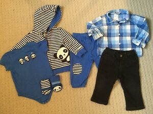 12M Boys Gymboree Panda Bundle