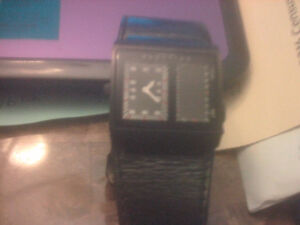 Kenneth Cole Dual Faced Watch unique