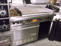 "Propane Range with 2 burners, 1 oven, 36"" Grill, #1175-14"