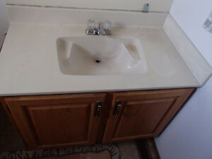 Bathroom Vanity, Sink and taps MUST GO BY AUG 1!