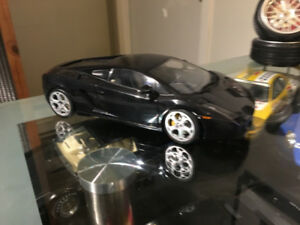 1:18 AUTOart 74572 Lamborghini Gallardo Clear Engine Bonnet Blac