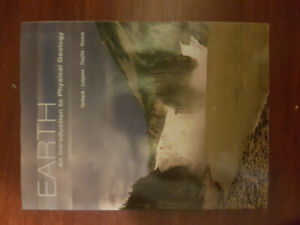 Earth: an introduction to physical geology, 4th canadian edition