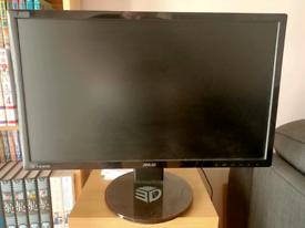 """24"""" 1080p 144hz Asus gaming monitor"""