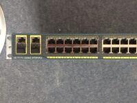 Cisco 2960 24port switch series SI