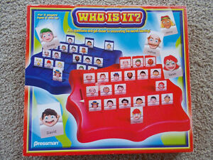 Who Is It? (Guess Who type game) for CRAFTS