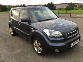 2009 Kia Soul 2 1.6 diesel car F/S/H low mileage manual long mot PRICE REDUCED