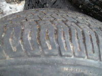 Tires set of 4 size 265/7016