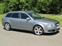 2006 Audi A4 Avant 2.0TDI S Line Manual 6 Speed Diesel Estate 140bhp
