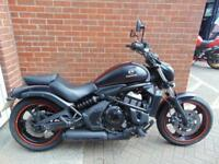2015 (15) KAWASAKI VULCAN S 650 CRUISER - HEATED GRIPS TAIL TIDY