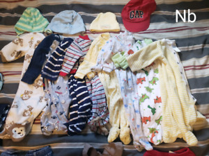 Boys Newborn bundle (42 pcs)