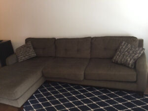 2 pieces sectional in great shape!!! $300 OBO