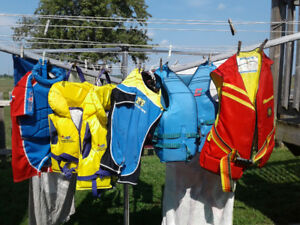 Life Jackets and swimwear with floats