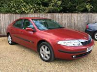 Renault Laguna 2.2dCi ( 150bhp ) AUTOMATIC 2003MY Expression RED