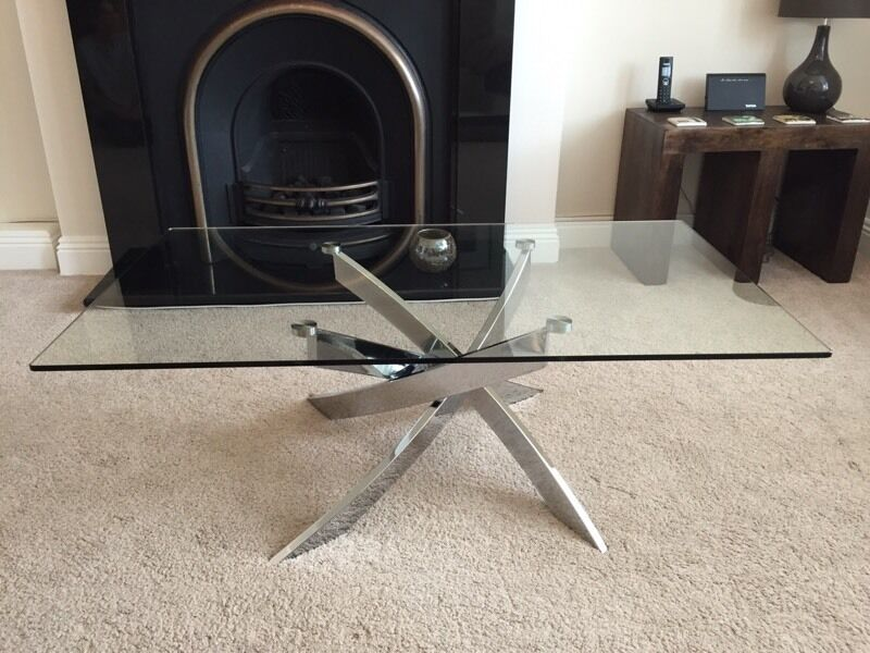 Dfs Blade Glass Coffee Table