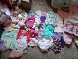 Baby girl bundle 0mths to 3yrs - just under 40 pieces