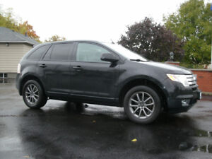 Ford Edge Sel Awd Only K Sun Roof Auto Drives Great