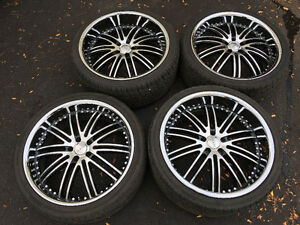 22inch XIX 23 rims with tires for sale