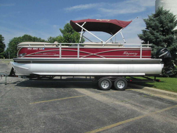 Used 2014 Sun Tracker REGENCY 254 TRITOON
