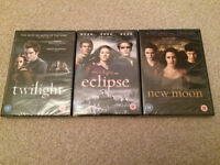 3 x Twilight DVDs - brand new (in wrapper)