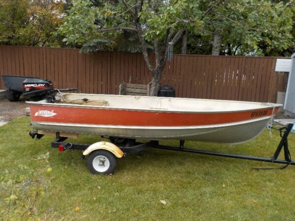 Used 1996 Lund Boat Co Aluminum