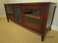Hooker Entertainment Console Like New