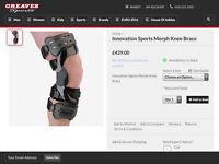 Innovation Sports Morph Knee Brace