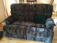 Love seat/ rocking reclining chair