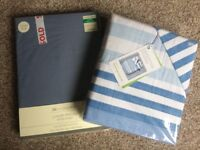 Superking size bedding inc fitted sheet