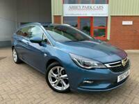 2017 17 Vauxhall Astra 1.4T 16V SRi 5dr Petrol - Automatic - Arden Blue