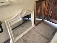 Fireplace with 2 Mirrors for Sale £85