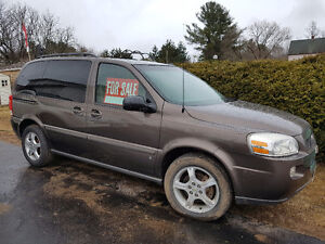 2007 Chevrolet Uplander Leather Minivan, Van
