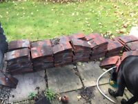 Reclaimed roof tiles