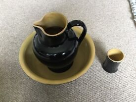 Denby wash set Antique