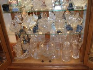 Pinwheel Crystal and other Glassware
