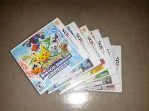 3Ds games for sale! $25  and under!