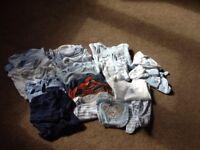 'Tiny baby' size boys bundle
