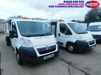 CITROEN RELAY 2.2HDi 120PS TIPPER-REFUGE-ARBORIST-WASTE CARRIER-FINANCE ARRANGED