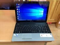 4GB fast Packard bell HD laptop 320GB window10,Microsoft office,ready to use, excellent condition