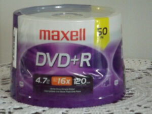 50 pack of maxwell dvd