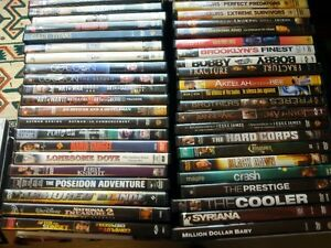 Over 100 movies , DVD, s