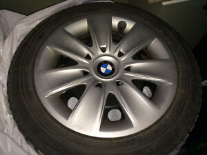 BMW winter tires and rims excellent condition