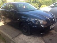 Seat Ibiza 2005 automatic 1.4 ideal leaner car
