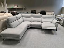 Brand new Corner sofa electric recliner