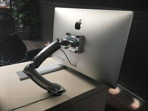 Brand New 27 inch iMac w/ i5 &Radeon R9 M290x and Ergotron stand