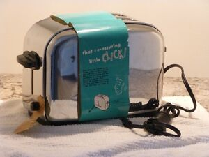 1956 GE Toaster - Never Used