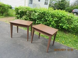 TWO END TABLES $20 EACH