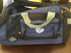 Blue Jays Duffel Bag, t-shirt, scarf