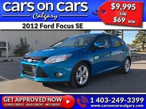 2012 Ford Focus SE w/BlueTooth, USB Connect, Satellite Radio $69