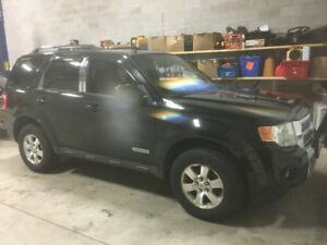 2008 Ford Escape limited edition  Black SUV, Crossover