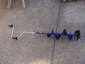 8-Inch Hand Ice Auger - NEW - Never used